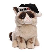 Gund Gruñón Gato Navidad De La Felpa Del Animal Relleno