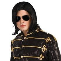 Peluca De Michael Jackson Para Caballeros, Adultos