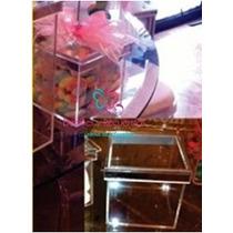 Caja Organizadora Acrilico 10x10x20 Mesa De Dulces, Botana