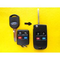 Carcasa Control Modificacion Ford 4 Botones Envio Gratis