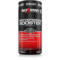 Six Star Testosterona Capsulas 60 Ea