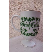 Taza Irish Coffe Treboles Y Leyenda Irlanda Europa Bar Cafe