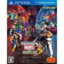 Ultimate Marvel Vs Capcom 3 Ps Vita Japonesa