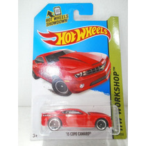 Hot Wheels 13 Copo Camaro Rojo 229/250 2014
