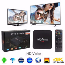 Mxq Pro Plus® Tv Box 4k Octa Core Android 5.1 Bluetooth