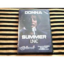 Dvd Donna Summer - Live - Manhattan Center 1999 - Nuevo