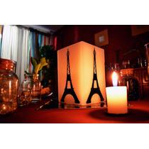 Centro De Mesa Temático De Torre Eiffel Para Xv Años Aluzza.