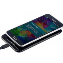 Cargador Y Adaptador Inalambrico Qi Para Samsung Gakaxy S5