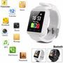 Smartwatch U80 Pro Color Blanco Htc Samsung Motorola Sony Lg