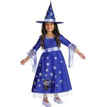 Disfraz Bruja Brujita Niña Talla 2 Años