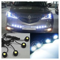 Leds Ojo De Aguila Eagle Eyes Led Tipo Audi Kit 10w Balastra