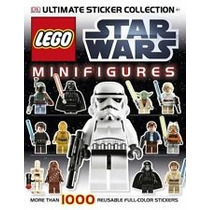Revista De Sticker Lego Star Wars