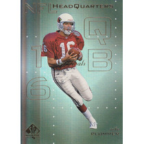 1999 Sp Authentic Headquarters Jake Plummer Qb Cardinals