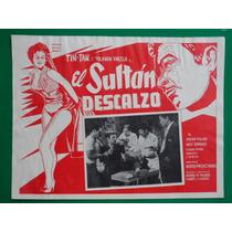 Tin Tan El Sultan Descalzo Yolanda Varela Cartel De Cine 3