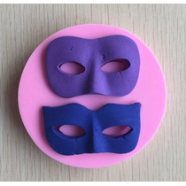Molde De Silicon De Mascaras De Carnaval