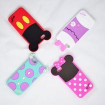 Funda Disney Silicon Iphone 5/5s(mickey,minnie,daisy,sulley)