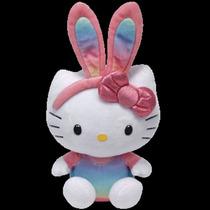Peluche De Hello Kitty Arcoiris Bunny. Marca Ty.