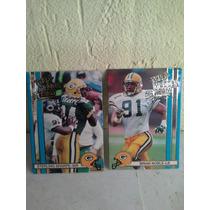 Giants Packers Cartas De Futbol Americano Colecionables 1990