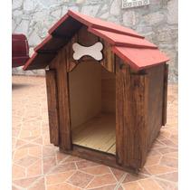 Casas De Madera Para Perros De Talla Mediana !!