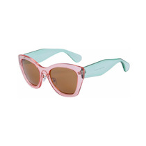 Lentes De Sol Moda Fashion Cat Eye Retro Vintage Rosa Verde