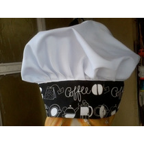 Gorro Chef Reposteria Pastel