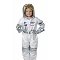 Disfraz De Astronauta Para Niños Con Casco Y Accesorios