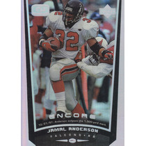 1999 Upper Deck Encore Game Dated Jamal Anderson Rb Falcons