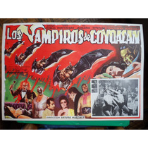 Mil Mascaras Los Vampiros De Coyoacan Lucha Horror Poster 4