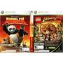 Videojuego Doble Indiana Jones Y Kunfu Panda De Xbox 360
