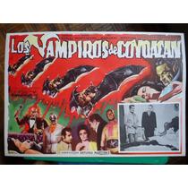 Mil Mascaras Los Vampiros De Coyoacan Lucha Horror Poster 3