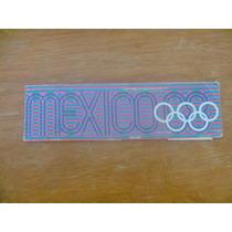 Olimpiadas México 68. Talonario-guía De Actividades.