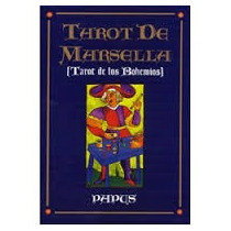 Tarot Marsella Profesional, Cartas Plastificadas + Manual...