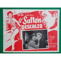 Tin Tan El Sultan Descalzo Yolanda Varela Cartel De Cine 5