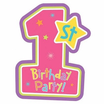 Kit Imprimible Birthday Girl Firts 1 Año Torta Fiesta Cumple