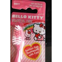 Hello Kitty Sanrio Cepillo De Dientes Aseo Bucal Para Viaje