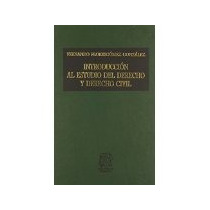 Libro Introduccion Al Estudio Del Derecho Y Derecho Ci *cj