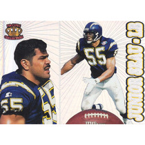 1995 Pacific Prisms Junior Seau Lb Chargers