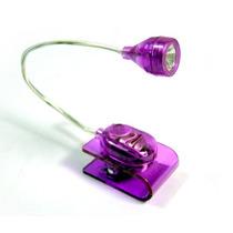 Mini Clip Lampara Led Lectura Luz Noche Emergencia Viaje