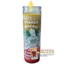 Veladora Chango Macho - Abre Caminos Y Suerte En Todo