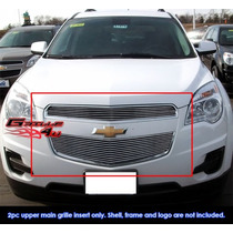 Equinox Chevrolet Parrilla Billet Importado Envio Gratis