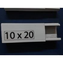 Canaleta Pvc Blanca 10x20 Mm X 2m