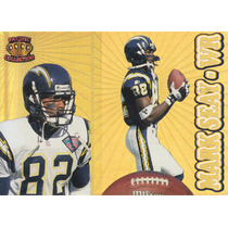 1995 Pacific Prisms Gold Mark Seay Wr Chargers