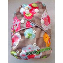 Paquete 12 Pañales Ecològicos Reusables De Tela Bebés Niños
