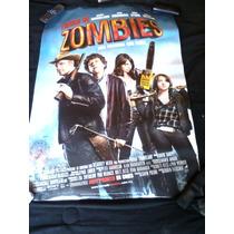 Poster De La Película Tierra De Zombies