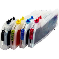 Kit Cartuchos Rellenables C/tinta Gigantes P/ Brother Lc75