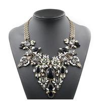 Maxi Collar Piedras Elegance Accesorio Mujer
