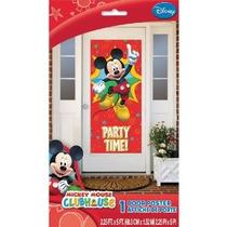 Mickey Mouse Puerta Cartel - Vacaciones Y Fiesta