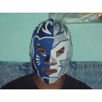 Mascara Luchador Cmll Wwe Blue Panther Dr Wagner Jr P/adulto