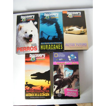 Cassetes Vhs Documentales Discovery Channel 90s