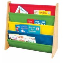 Organizador De Libros Para Niño Revistero Librero Tot